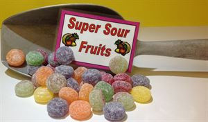 Picture of Super Sour Fruits 100g
