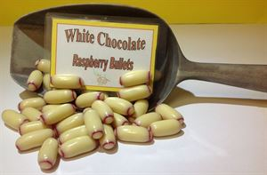 Picture of White Chocolate Raspberry Bullets