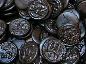 Picture of Dutch Licorice - Black Coins 200gm