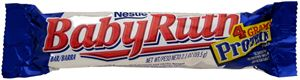 Picture of Baby Ruth chocolate bar 59.5gm