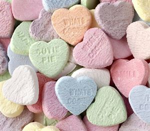 Picture of Conversation Hearts 220g
