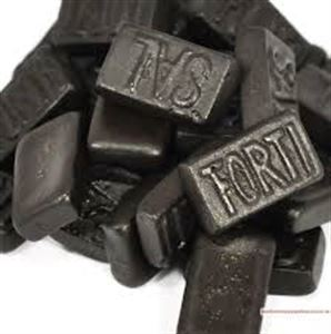 Picture of Dutch Licorice - Triple Salted 1kg